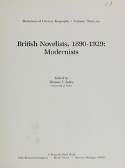Cover of: British novelists, 1890-1929 | edited by Thomas F. Staley.