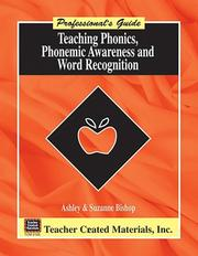 Teaching phonics, phonemic awareness, and word recognition by Ashley Bishop
