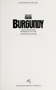Cover of: Burgundy |