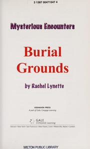 Cover of: Burial grounds | Rachel Lynette
