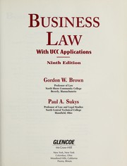 Cover of: Business law | Gordon W. Brown