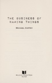 Cover of: The business of naming things