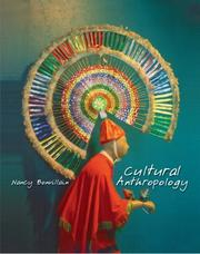 Cover of: Cultural anthropology