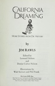 Cover of: California dreaming : more stories from Dr. History