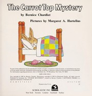 Cover of: The Carrot Top Mystery