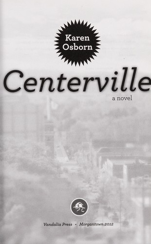 Centerville, a novel by Karen Osborn