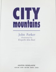 Cover of: City Mountains |