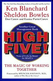 Cover of: High Five (One Minute Manager)