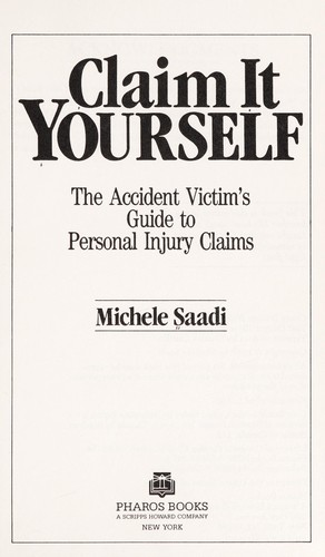 Claim it yourself by Michele Saadi