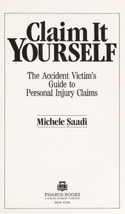 Cover of: Claim it yourself | Michele Saadi
