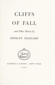 Cover of: Cliffs of fall, and other stories