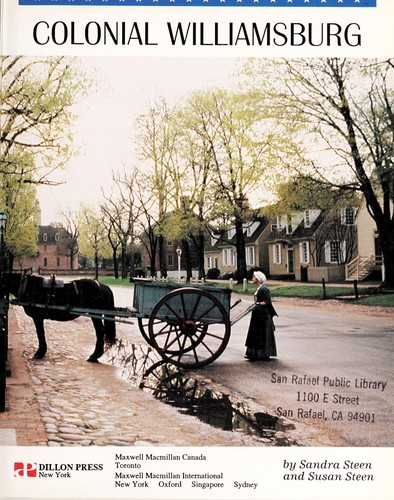 Colonial Williamsburg by Sandra Steen