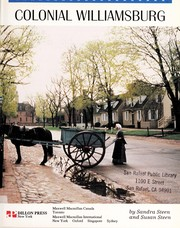 Cover of: Colonial Williamsburg | Sandra Steen