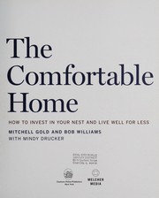 Cover of: The comfortable home | Mitchell Gold