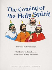 Cover of: Arch-Coming of the Holy Spirit; Acts 2 | Jean Cook