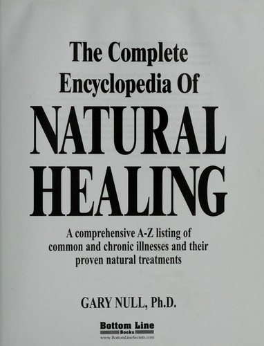 The Complete Encyclopedia of Natural Healing by