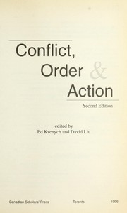 Cover of: Conflict, order & action |
