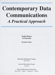 Cover of: Contemporary data communications