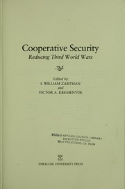 Cover of: Cooperative security