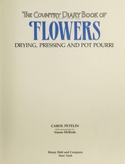 The country diary book of flowers