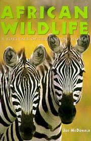 Cover of: African Wildlife (Portrait of the Animal World)