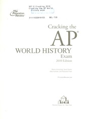 Cover of: Cracking the AP world history exam | Monty Armstrong