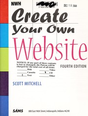 Cover of: Create your own website | Scott Mitchell