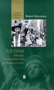 Cover of: Vietnam and the Transformation of American Life (Problems in American History)