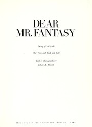 Cover of: Dear Mr. Fantasy | Ethan A. Russell