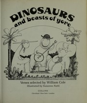 Cover of: Dinosaurs and beasts of yore |