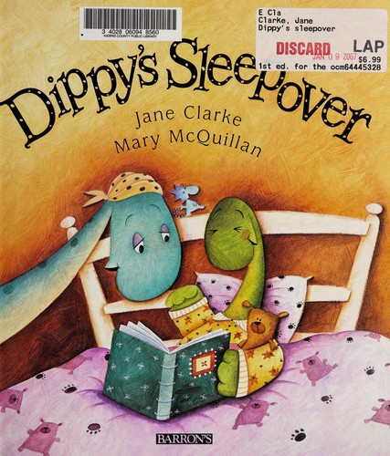 Dippy's sleepover by Jane Clarke