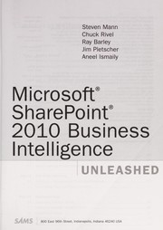 Cover of: Microsoft Sharepoint 2010 business intelligence unleashed