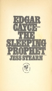 Cover of: Edgar Cayce | Jess Stearn