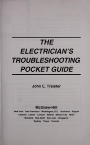 Cover of: The electrician's troubleshooting pocket guide