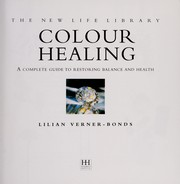 Cover of: Colour Healing | Lilian Verner-Bonds