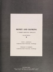 Cover of: Money and banking | Ivan C. Johnson