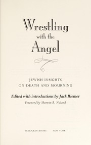 Cover of: Wrestling with the angel