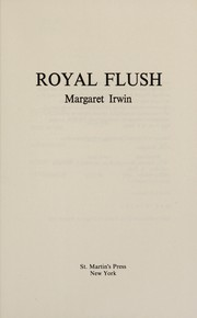 Cover of: Royal flush: the story of Minette