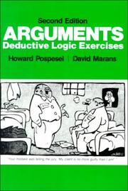 Cover of: Arguments