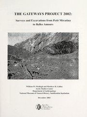 Cover of: Surveys and excavations from Petit Mécatina to Belles Amours | William W. Fitzhugh