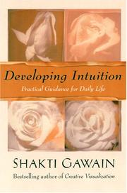 Cover of: Developing Intuition | Shakti Gawain