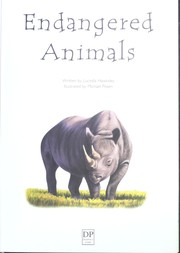 Cover of: Endangered Animals - Over 100 Questions and Answers to Thngs You Want to Know |