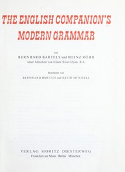 Cover of: The English companion's modern grammar