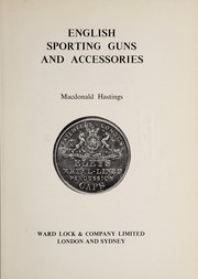 Cover of: English sporting guns and accessories