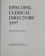 Cover of: Episcopal Clerical Directory 1997 (Episcopal Clerical Directory) |