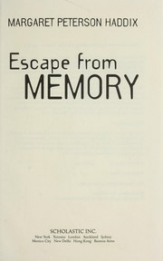 Cover of: Escape from memory