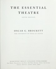 Cover of: The essential theatre