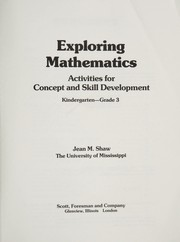 Cover of: Exploring Mathematics | Jean M. Shaw