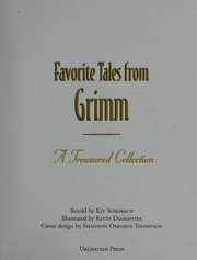Cover of: Favorite Tales from Grimm (Treasured Collection) |