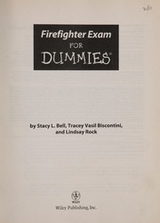 Cover of: Firefighter exam for dummies | Stacy L. Bell
